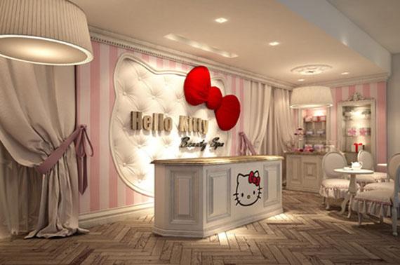 Hello Kitty Beauty SPA in the UAE