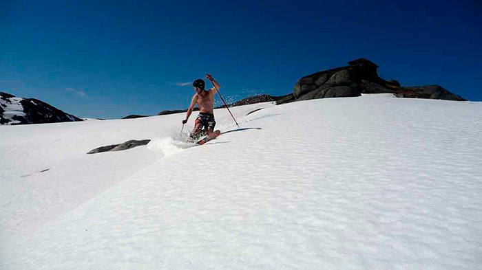 Amazing Ski Destinations in summer