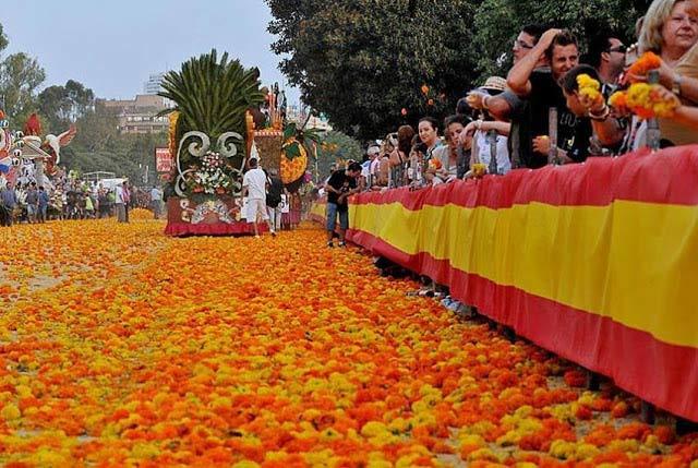 Batalla de Flores, Valencia, Spain