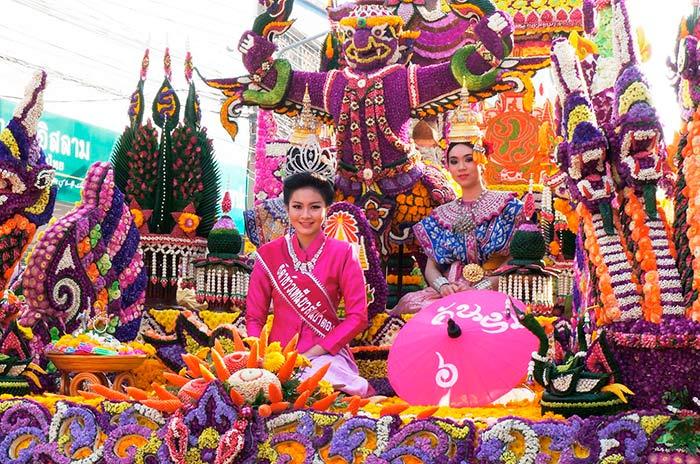 Chiang Mai Flower Festival, Chiang Mai, Thailand