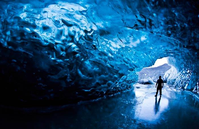 Crystal Cave, Skaftafell, Iceland