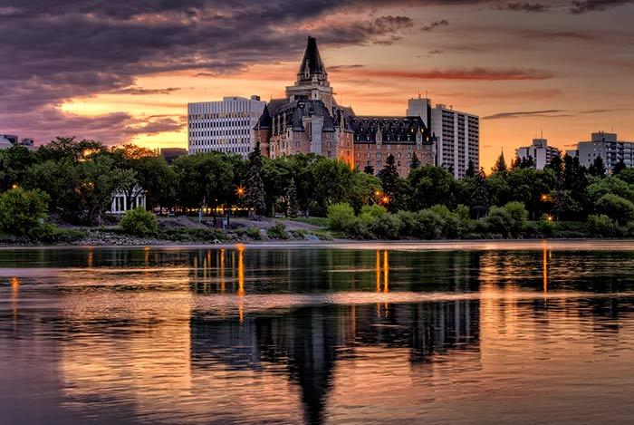 Delta Bessborough Hotel in Saskatoon, Saskatchewan, Canada