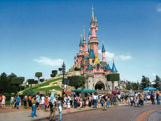 Disneyland Park in France