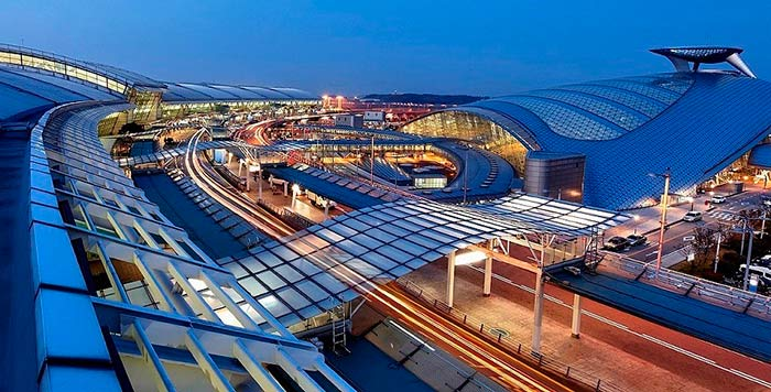 Incheon International Airport, Seoul, South Korea