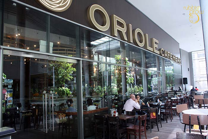 Oriole Cafe, Singapore