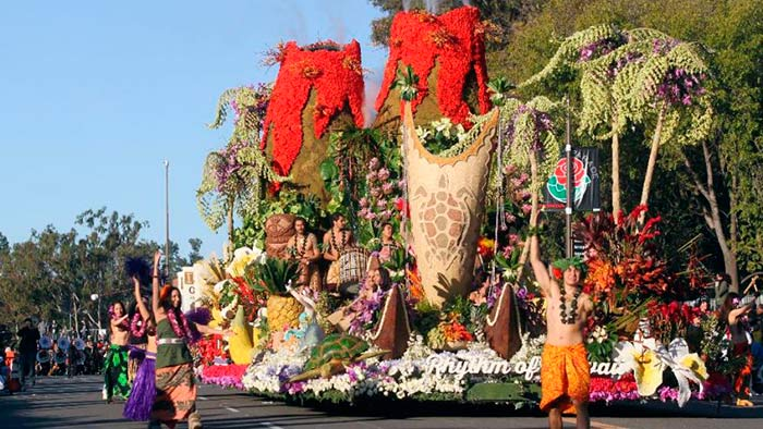 Pasadena Rose Parade, Pasadena, California