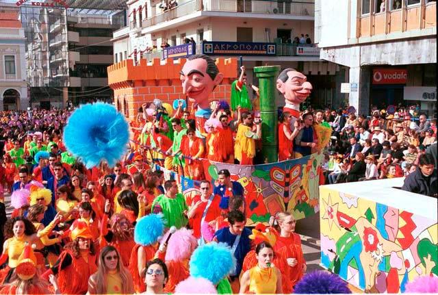 Patras Carnival in Peloponnese, Greece