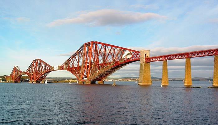 The Forth Railway Bridge, Scotland