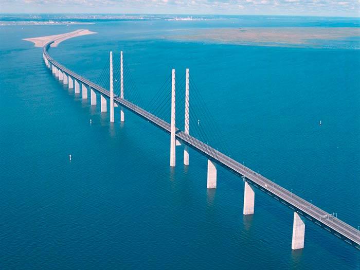 The Oresund Bridge, Sweden-Denmark