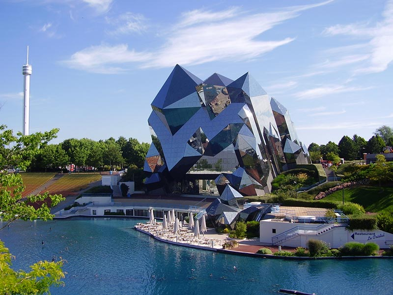 Futuroscope Amusement Park, France