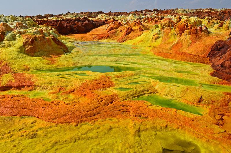 Danakil Desert, Eritrea