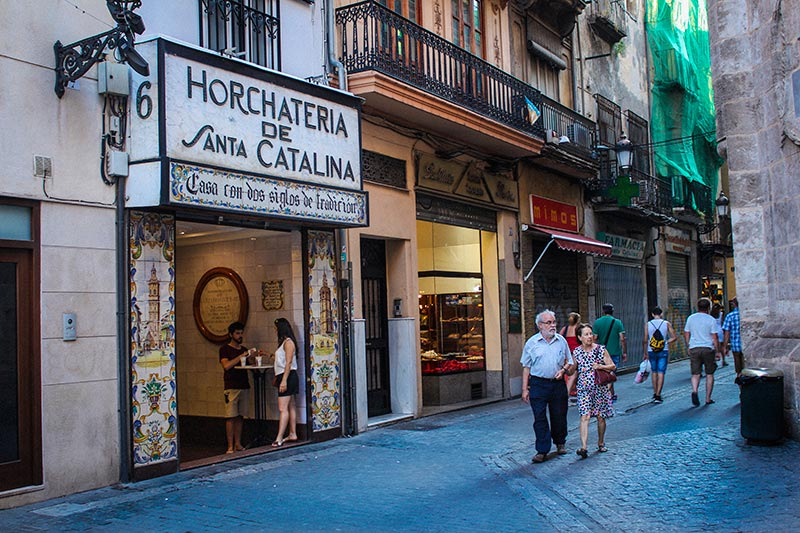 horchata de santa catalina
