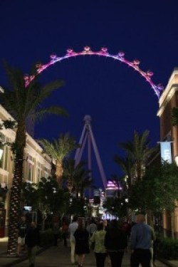 The High Roller - Viewed From The Linq