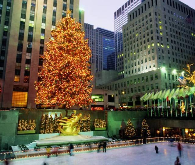 Rockefeller Center Christmas New York City New York