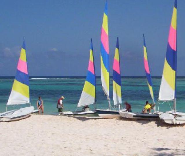 Club Med Punta Cana Watersports Photo Of Sails On Beach Photo Teresa