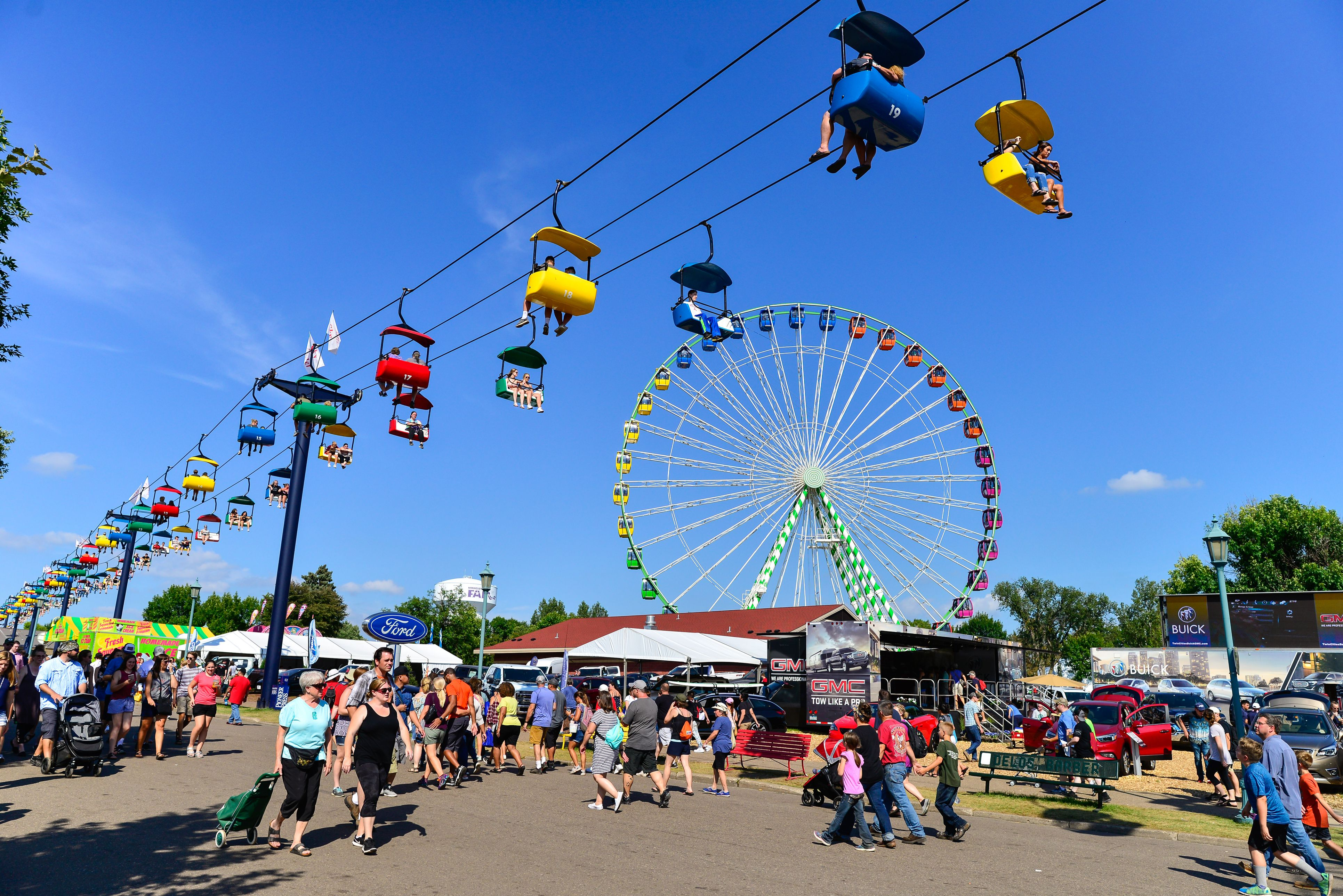 Free Parking At The Minnesota State Fair