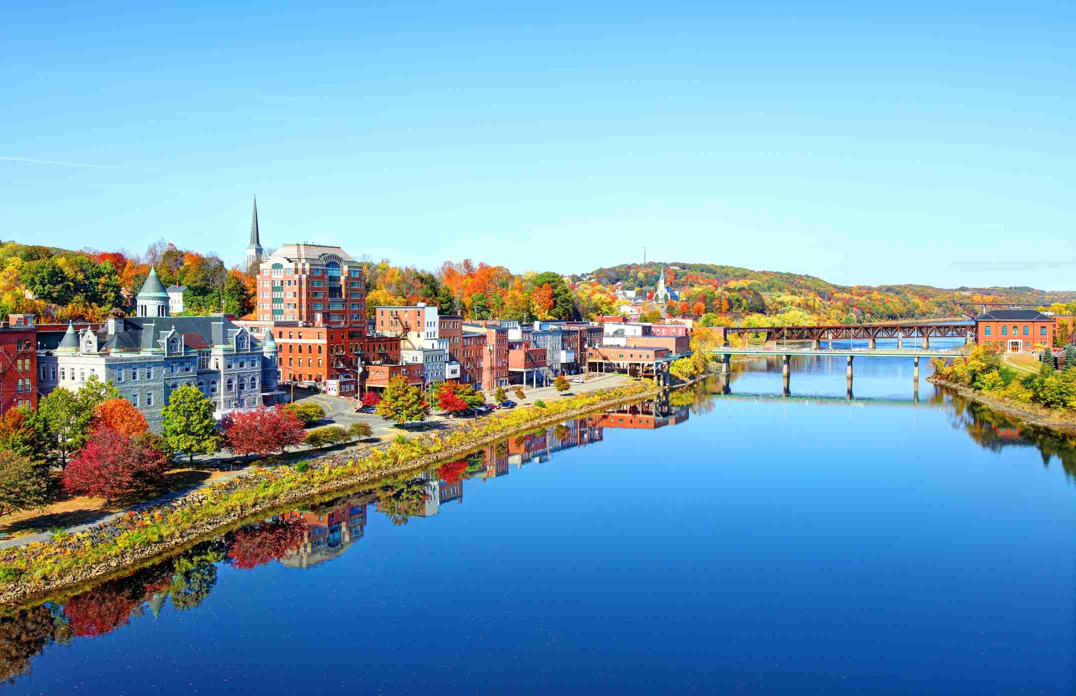Maine Fall Foliage Driving Tours