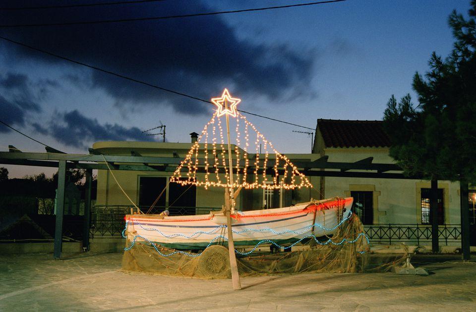 Christmas Greetings Greece