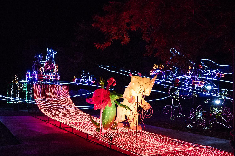Christmas Lights Neighborhoods