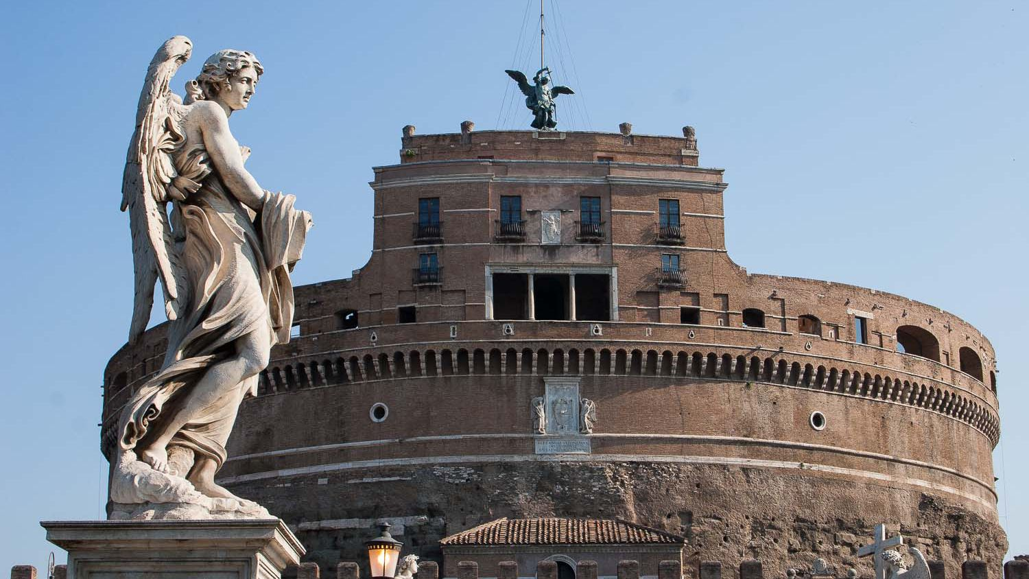 Visiting Castel Sant Angelo In Rome Italy