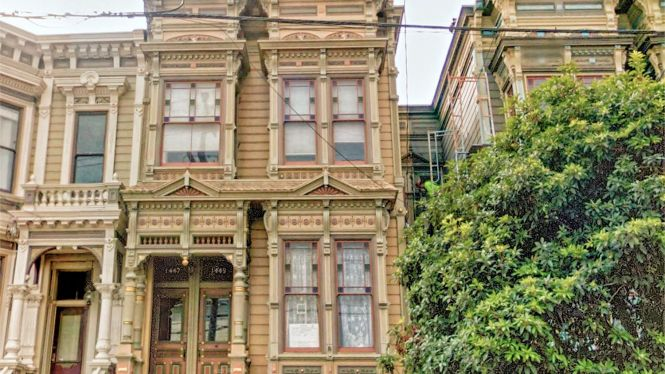 Famous Victorian Houses Of San