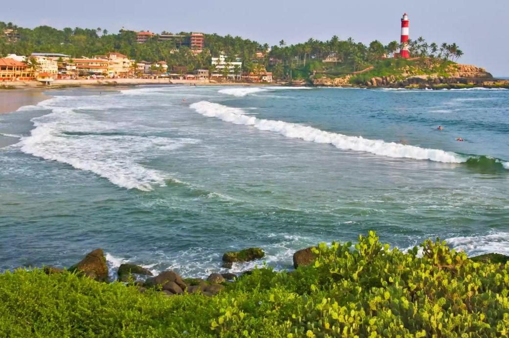 Kovalam beach, Kerala.