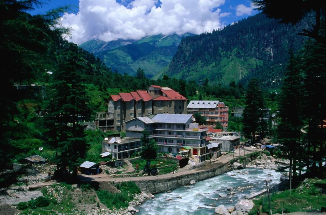 Scenic view of Old Manali, Himachal Pradesh