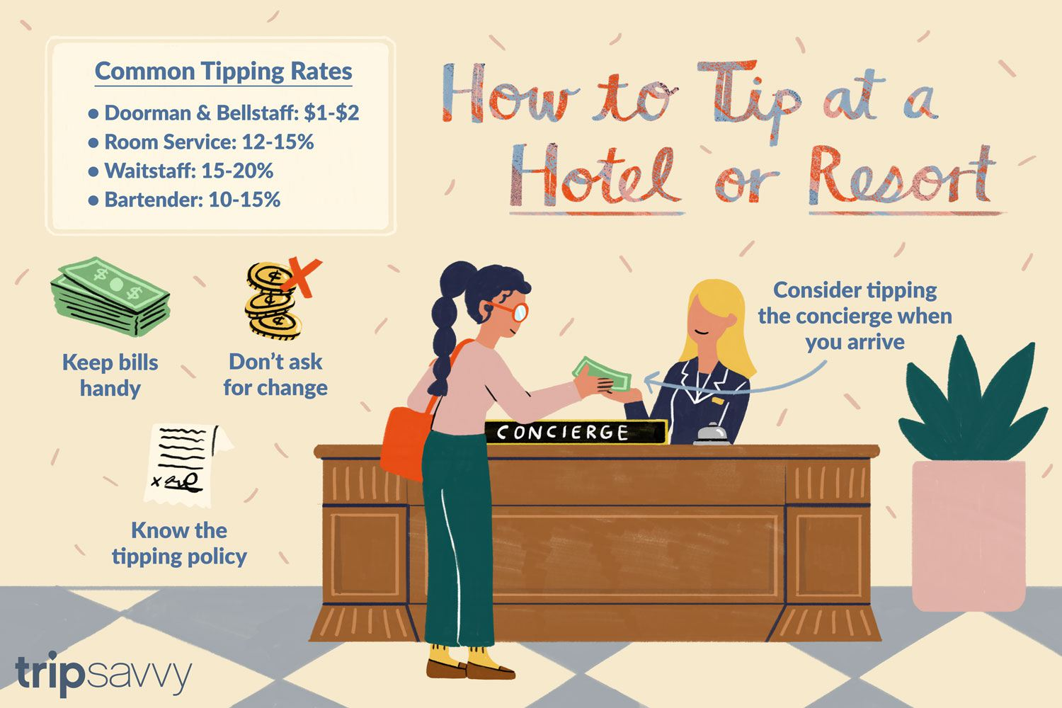 Tipping At Hotels And Resorts Who When And How Much