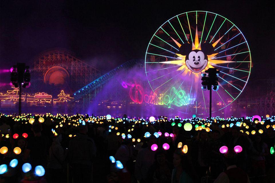 Fireworks Disney World Water Park