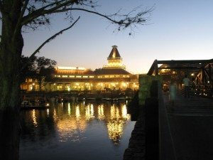 Port Orleans Riverside at Night