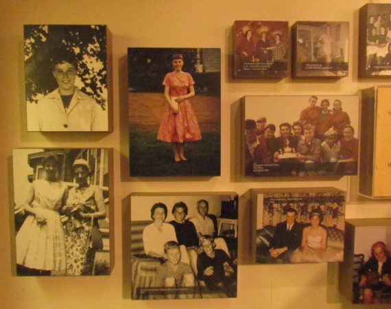 There are great photos and memorabilia throughout the Anne Murray Centre