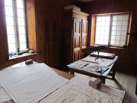 Inside the residences of Fort Louisbourg