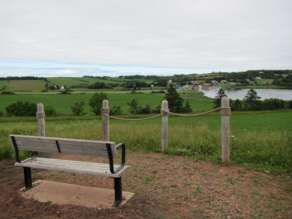 No bad pictures at this lookout of French River on Prince-Edward-Island.