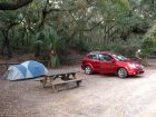 Camping at Fort Clinch State Park