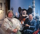 WDW 2011 - Hollywood Studios - Mama D with Mickey and Walt Disney