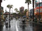 WDW 2011 - HS - Mama D walking on Sunset Boulevard