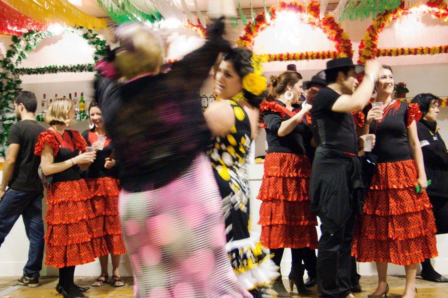 Iloista menoa Barcelonan Feria de Abrilissa. © tripsteri.fi / Tuulia Kolehmainen