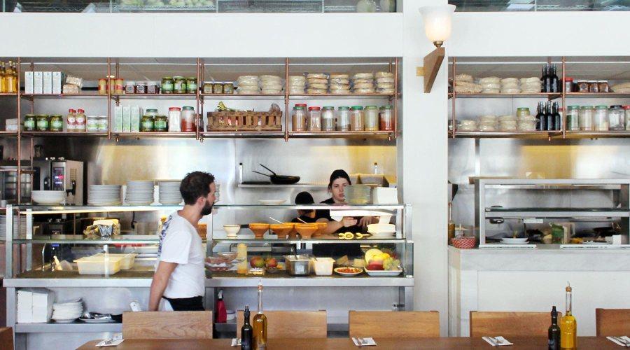 Flax & Kale -ravintolassa syödään hyvää ja terveellistä ruokaa. © Flax & Kale