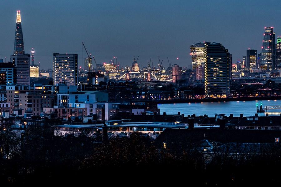 Öinen Lontoo. Kuva: Davide D'Amico, flickr.com, CC BY-SA 2.0