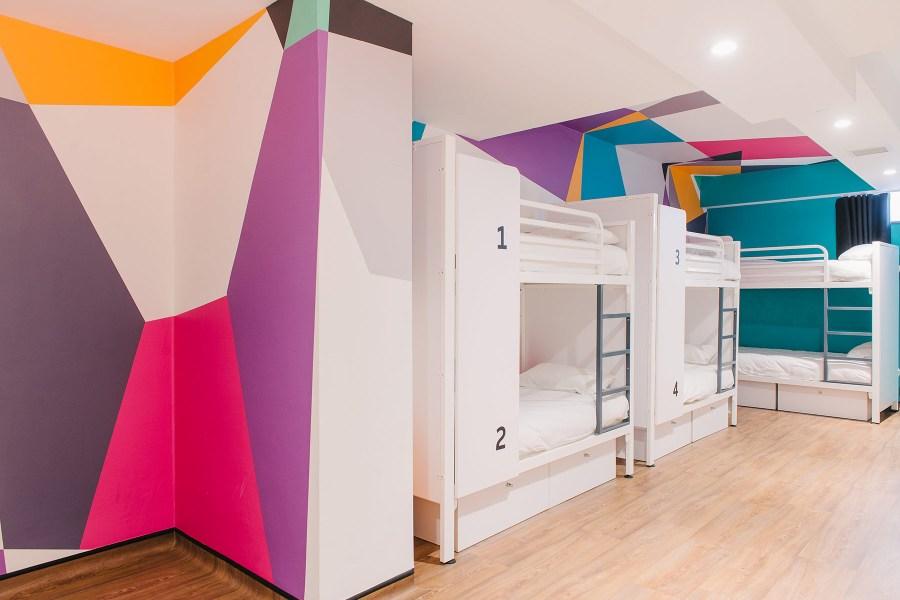 Generator London hostellin huone © Sinue Serra