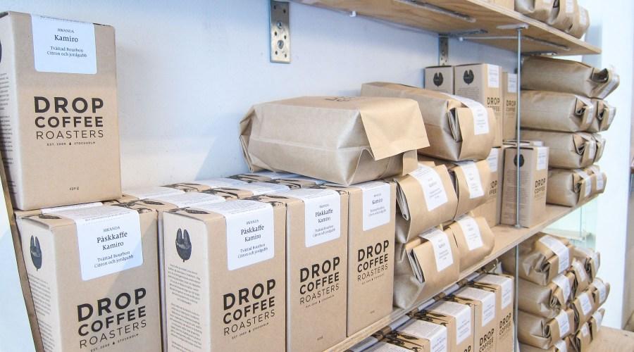 Drop Coffee paahtaa pavut Tukholmassa. Kuva: ©Soile Vauhkonen