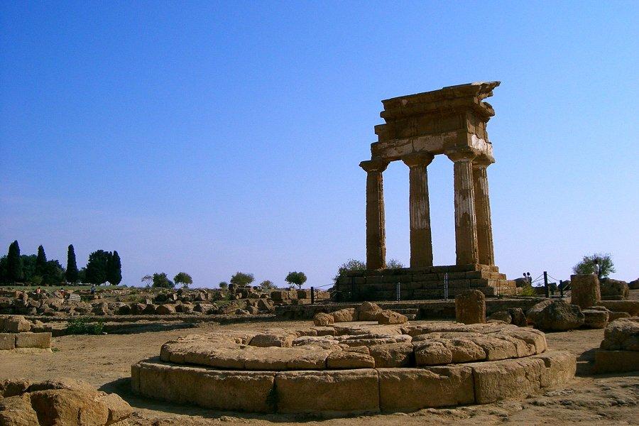 Tempio dei Dioscuri © Giuseppe Sortino Flickr CC