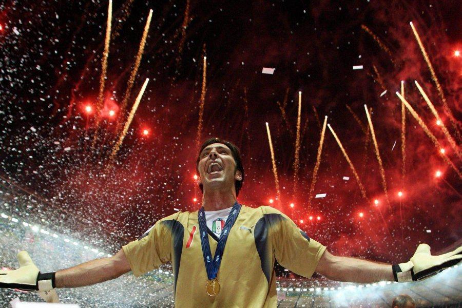 Buffon juhli vuoden 2006 maailmanmestaruutta © Duy Safari Flickr CC