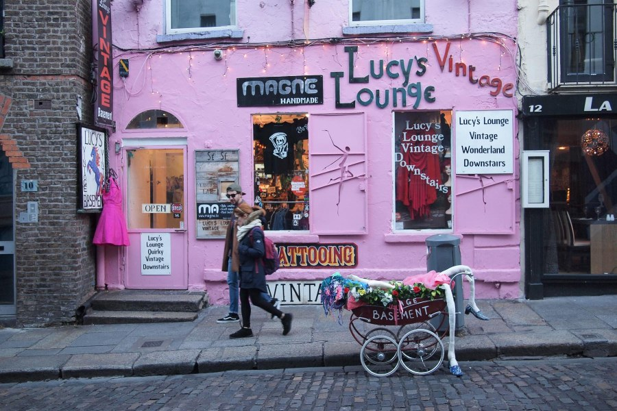 Lucy's Lounge, Temple Bar, Dublin. © Moona Laakso