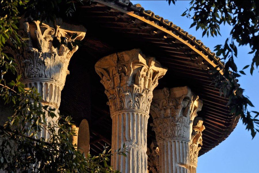 Herkules Invictuksen temppeli © ad13ca Flickr CC