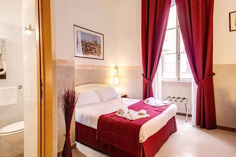 Huoneet ovat hinta-laadultaan erinomaisia © Giotto Flavia