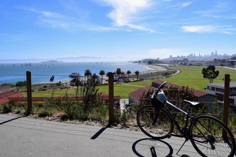 Näkymä ennen Golden Gatelle saapumista. Kuva: Reetta Kemppi