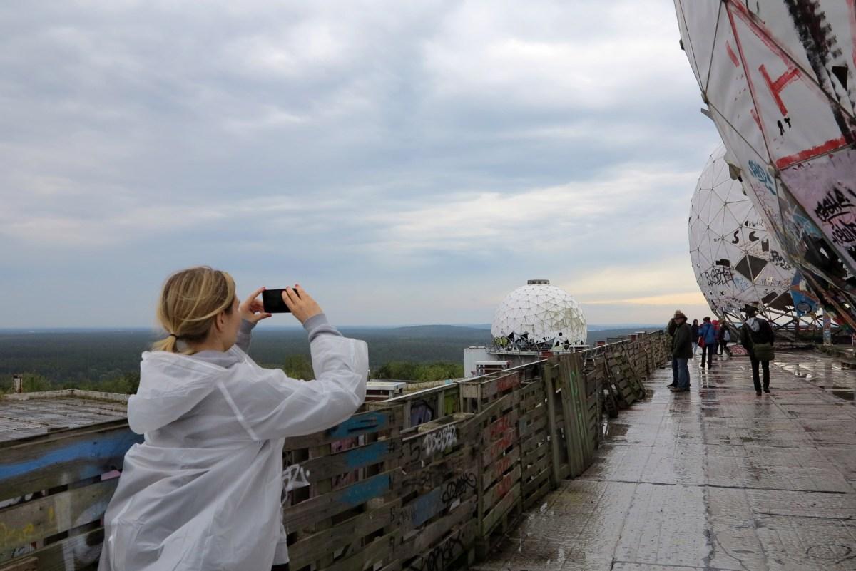 Berliinin Teufelsberg-vuori: Rappioromantiikkaa vakoiluasemalla