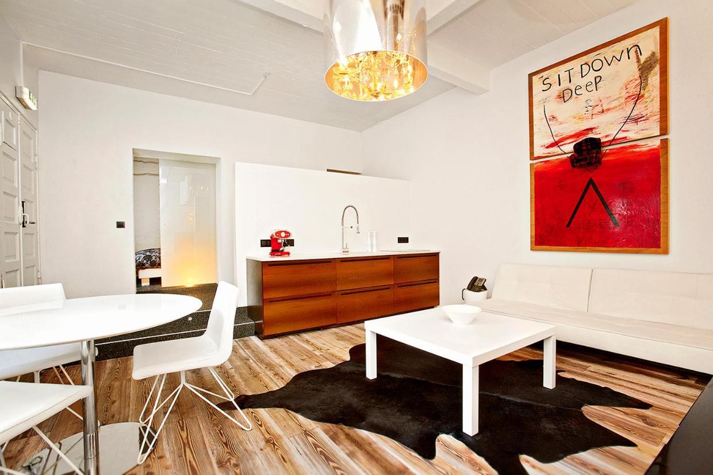 Apartament K tarjoaa erikokoisia tasokkaita huoneistoja Reykjavíkin keskustassa. Kuva: Apartament K.