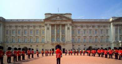 Bucking Palace in London